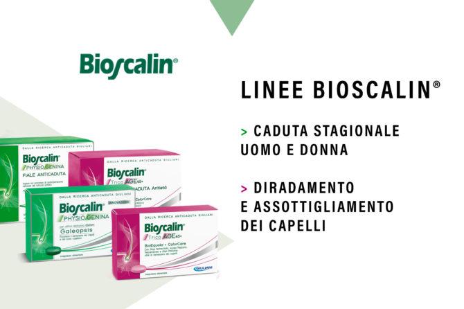 Linea di prodotti Bioscalin